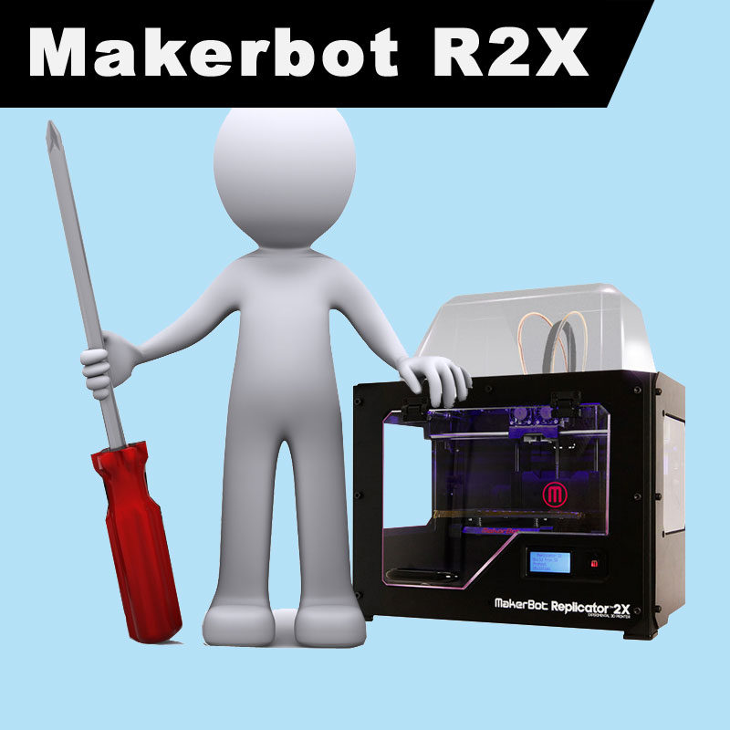 Makerbot Replicator 2X Spares