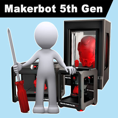 Makerbot Replicator 5th Gen Spares